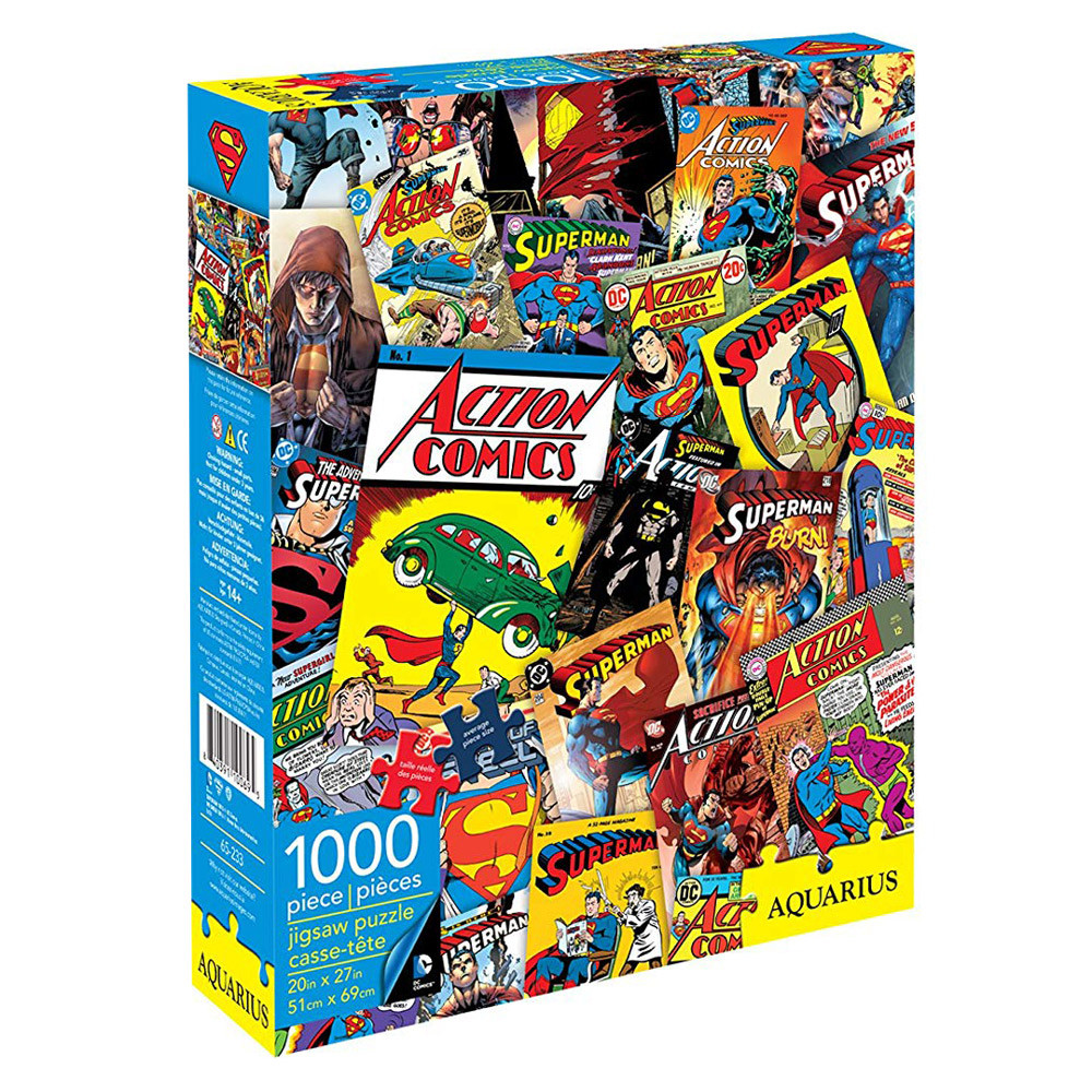[JP-65233] DC Comics - Superman Retro Collage 1000pc Puzzle