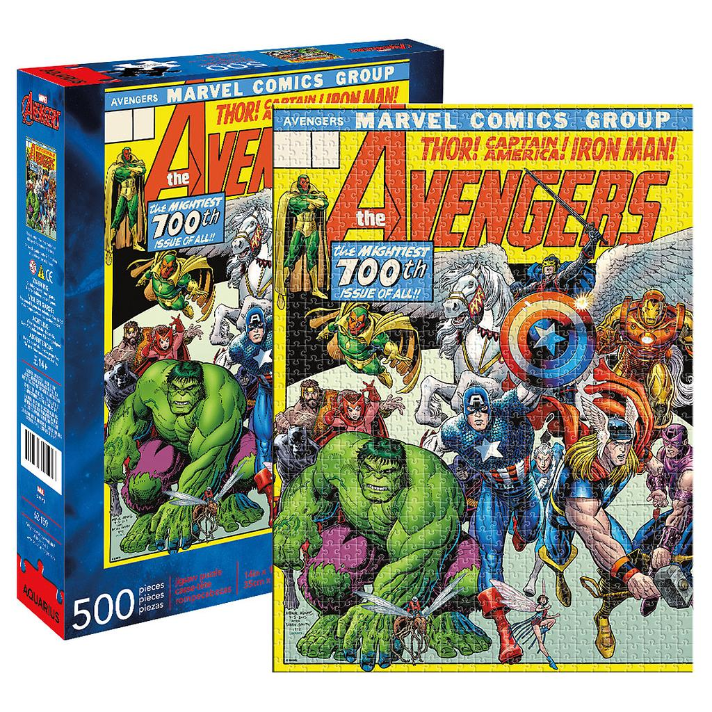 [JP-62159] Marvel - Avengers Cover 500pc Puzzle