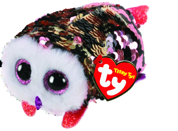 [42411] Teeny Tys Checks - Sequin Checkered Owl