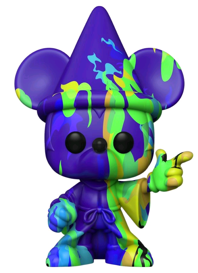 [FUN51942] Fantasia - Sorcerer Mickey (Artist) #2 Pop! Vinyl with Protector