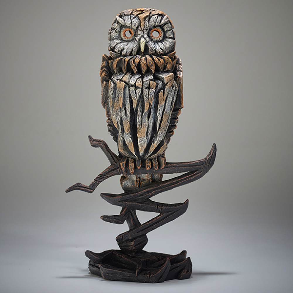 [EE6005336] Owl Figure - Jasnor Edge Sculpture