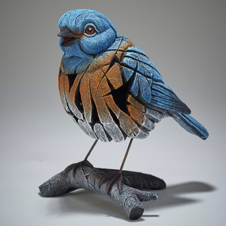 [EE6005344] Western Bluebird Figure - Jasnor Edge Sculpture