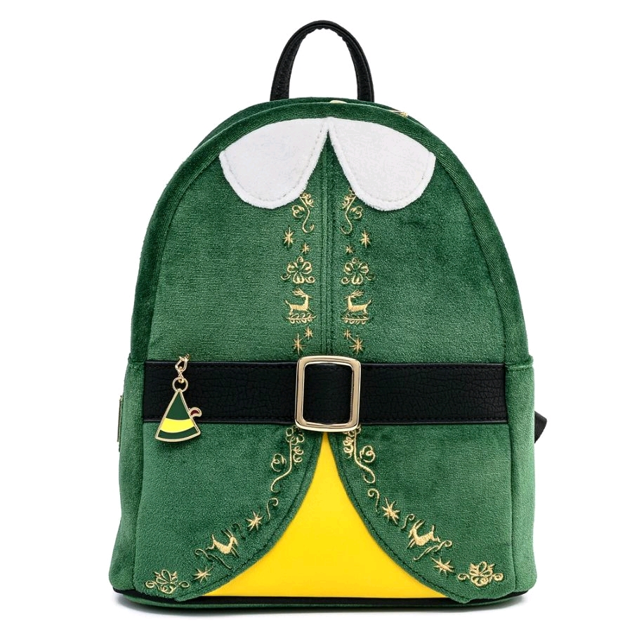 [LOUELFBK0003] Elf - Buddy Costume Mini Backpack - Loungefly