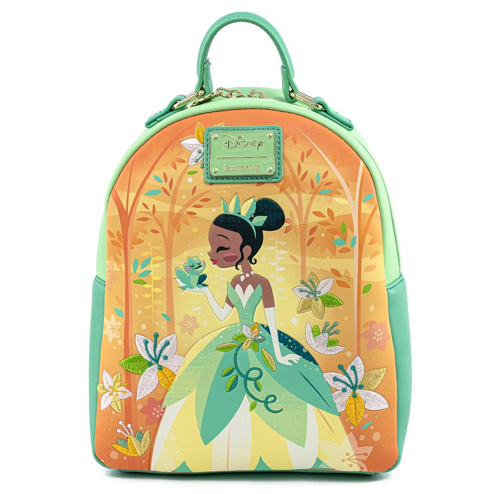 [LOUWDBK1357] The Princess and the Frog - Tiana Mini Backpack - Loungefly