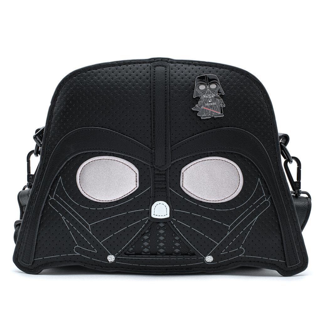 [LOUSTTB0184] Star Wars: Darth Vader Collector Crossbody with Pin - Loungefly
