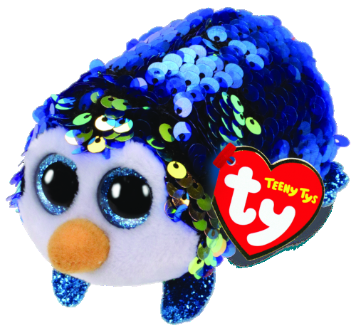 [42406] Teeny Tys Payton - Sequin Blue Penguin