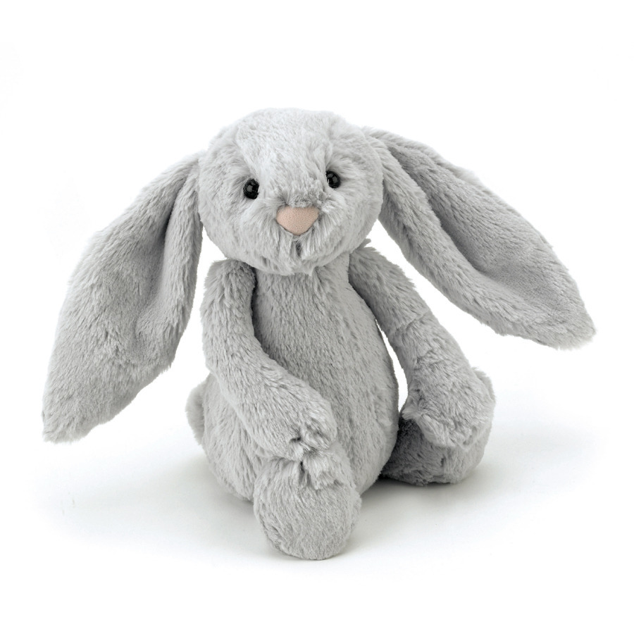 [BASS6BS] Jellycat Bashful Silver Bunny (Small)