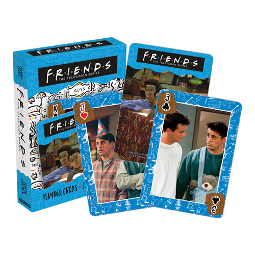 [pc-52721] Friends – Guys Playing Cards