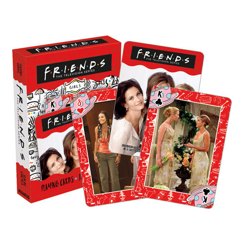[pc-52722] Friends – Girls Playing Cards
