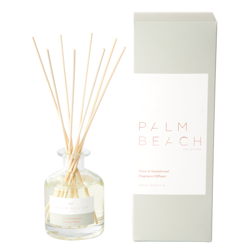 [RDXCSW] Reed Diffuser - Clove & Sandalwood - Palm Beach Collection