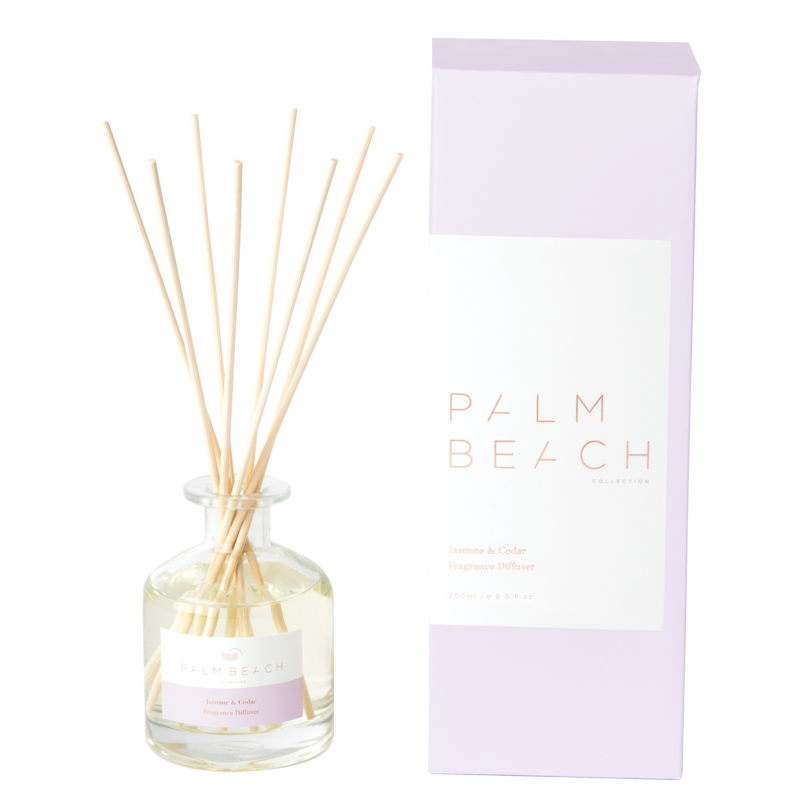 [RDXJCW] Reed Diffuser - Jasmine & Cedar - Palm Beach Collection