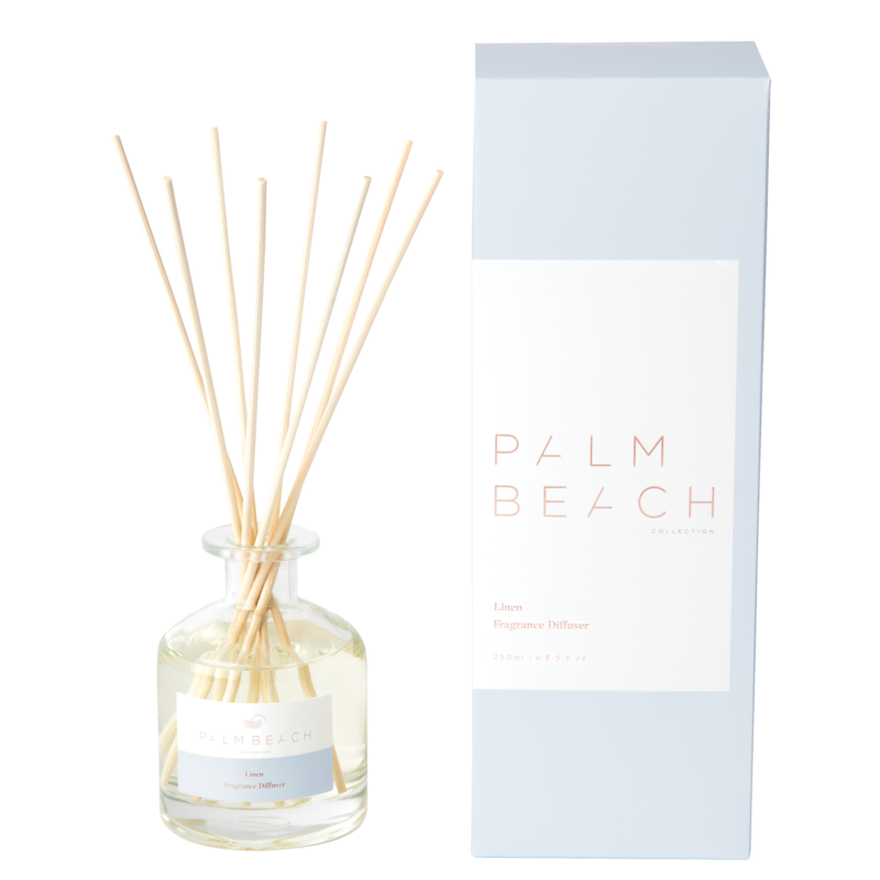 [RDXLW] Reed Diffuser - Linen - Palm Beach Collection
