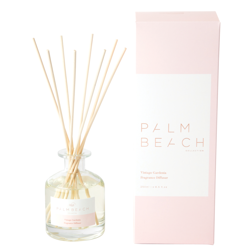 [RDXVGW] Reed Diffuser - Vintage Gardenia - Palm Beach Collection
