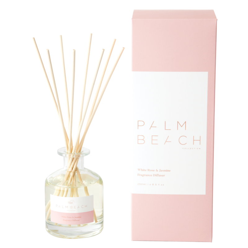 [RDXWRW] Reed Diffuser - White Rose & Jasmine - Palm Beach Collection