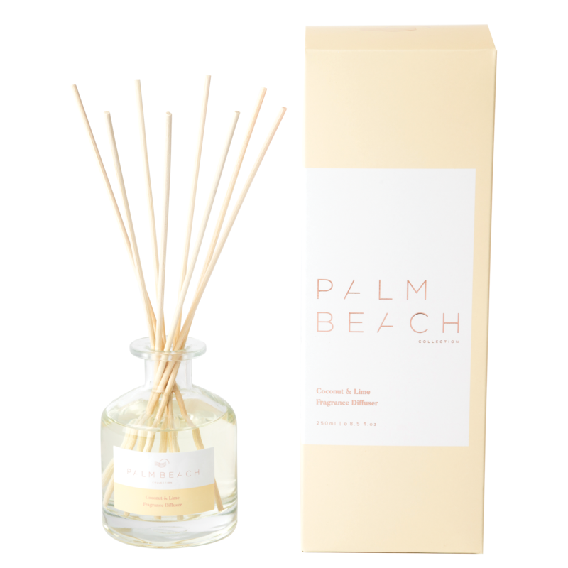 [RDXCLW] Reed Diffuser - Coconut & Lime - Palm Beach Collection