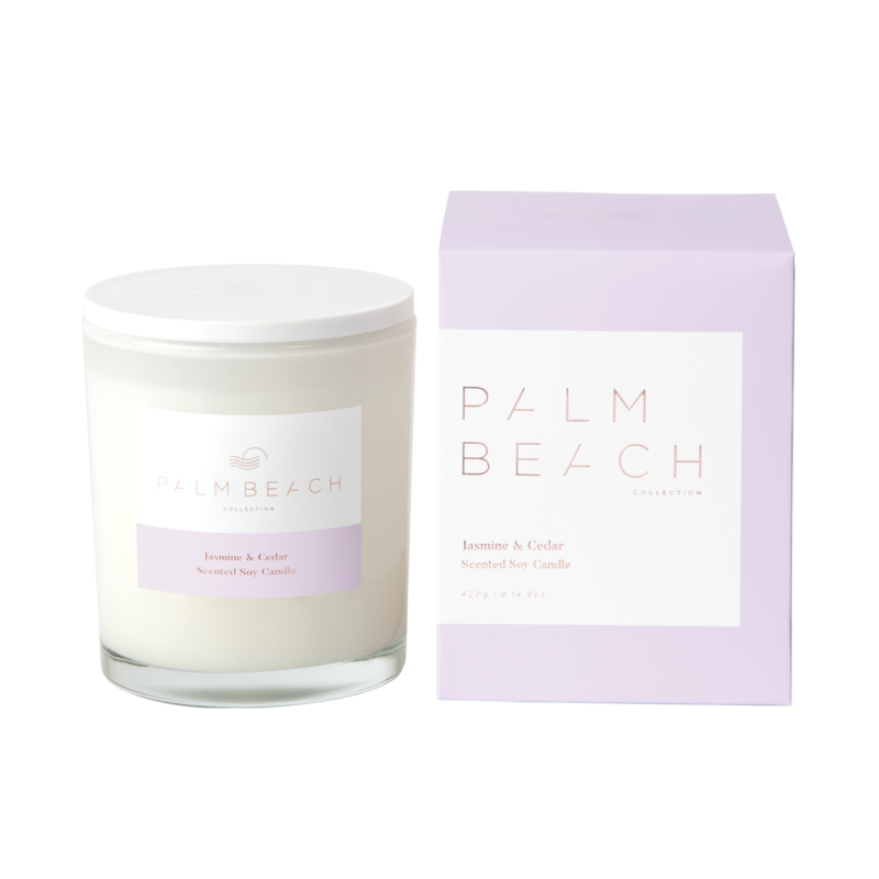 [MCXJCW] Standard Candle - Jasmine & Cedar - Palm Beach Collection