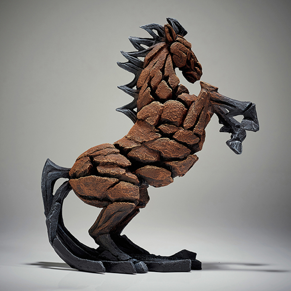 [EE6005337] Horse Figure - Jasnor Edge Sculpture