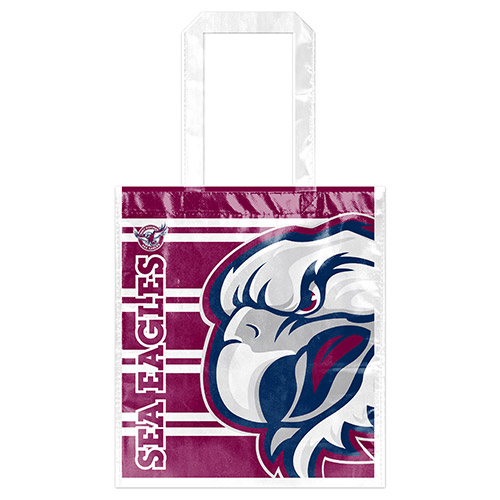 [NRL152HE] NRL Manly Sea Eagles Laminated Bag
